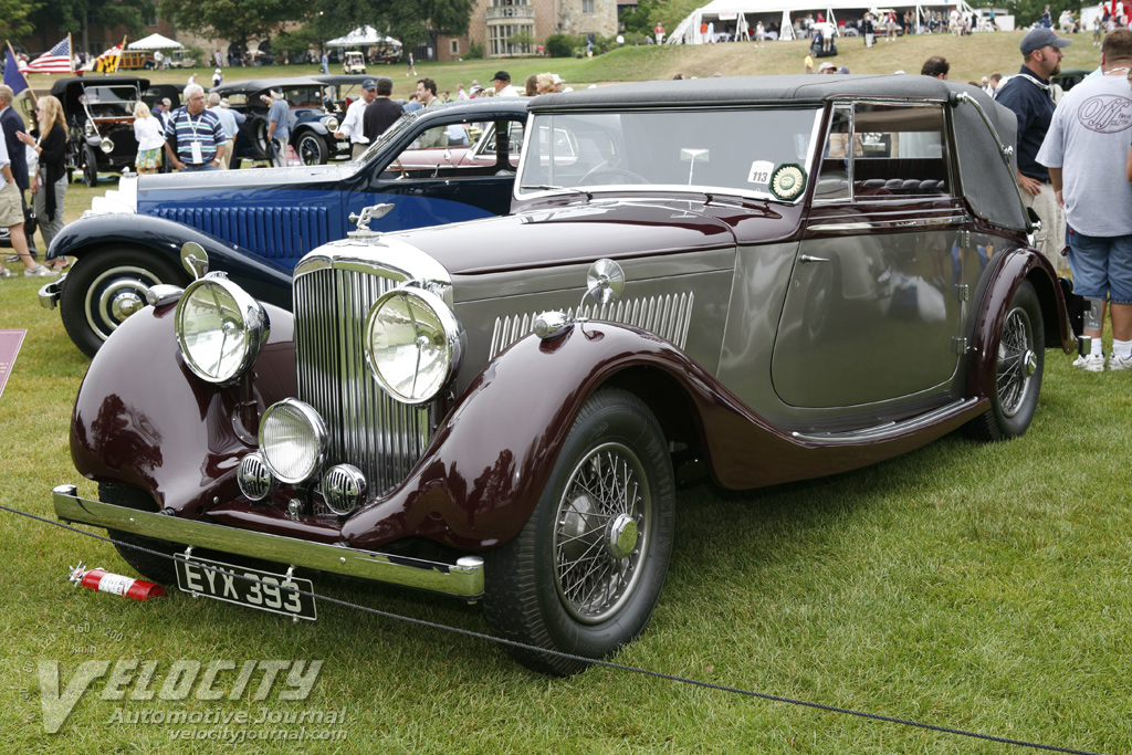 1938 Bentley 4-1/4l Drophead Coupe by Vanden Plas