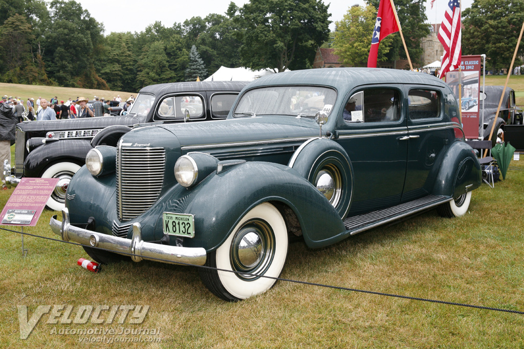 1938 Chrysler Custom Imperial Limousine by LeBaron