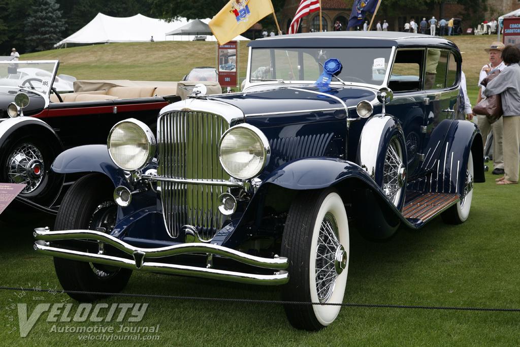 1931 Duesenberg Model J Clear Vision Sport Sedan by Murphy