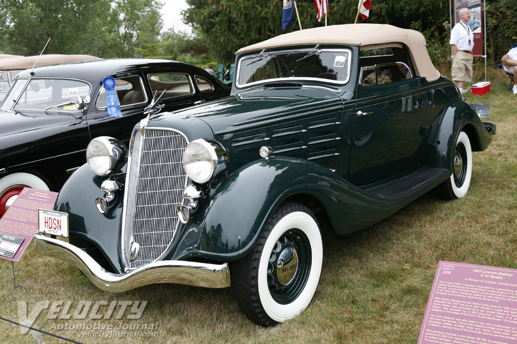 1934 Hudson 8 LT Special convertible coupe