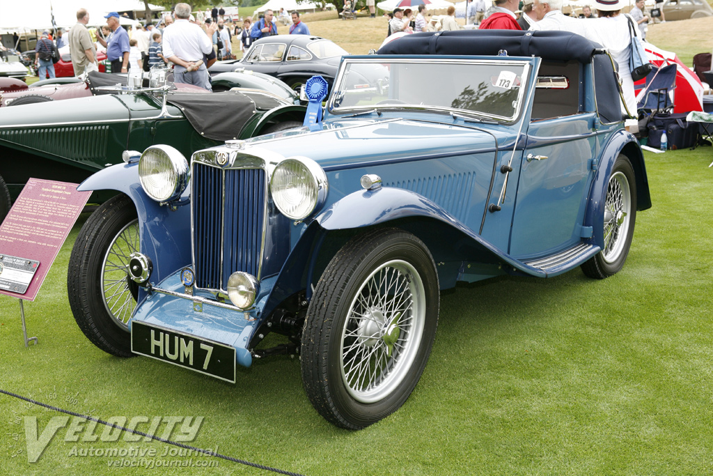 1939 MG Tickford drophead by Salmon & Sons