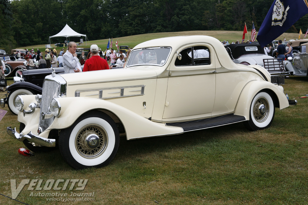 1935 Pierce-Arrow 845 Coupe