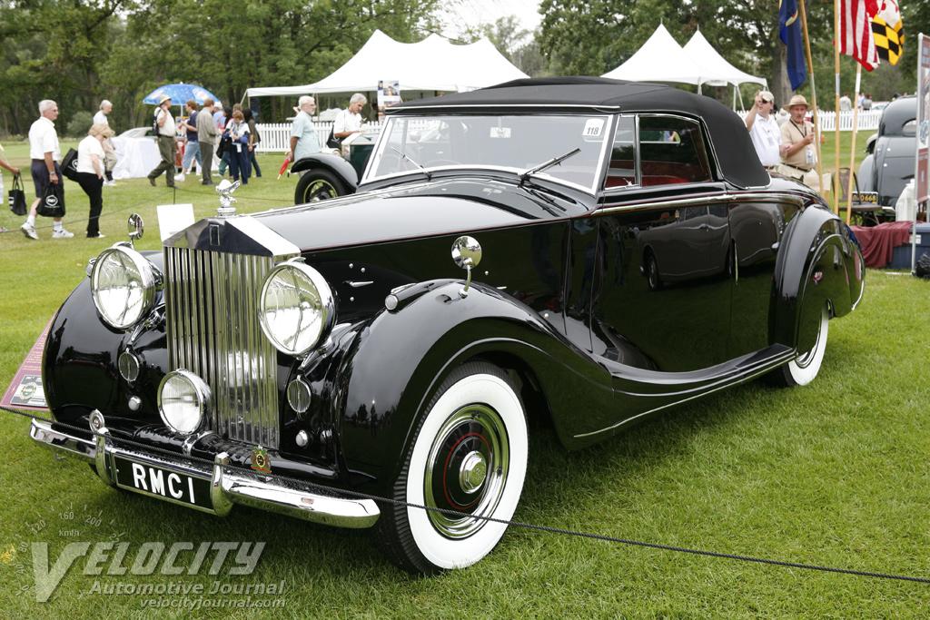 1950 Rolls-Royce Silver Race Roadster by Mulliner
