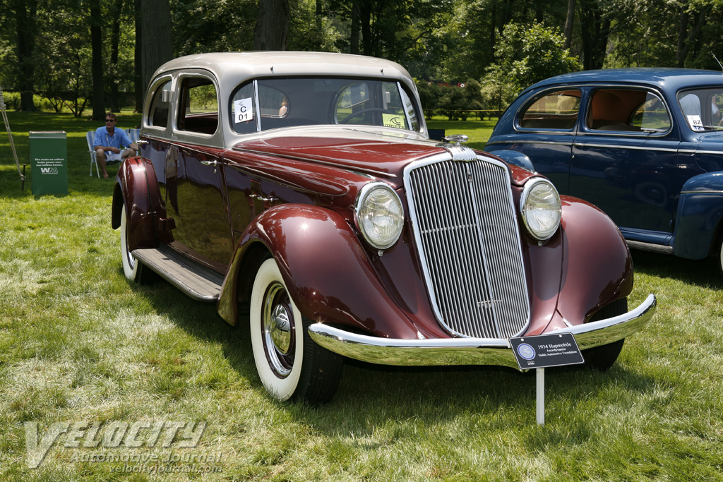 1934 Hupmobile Aerodynamic