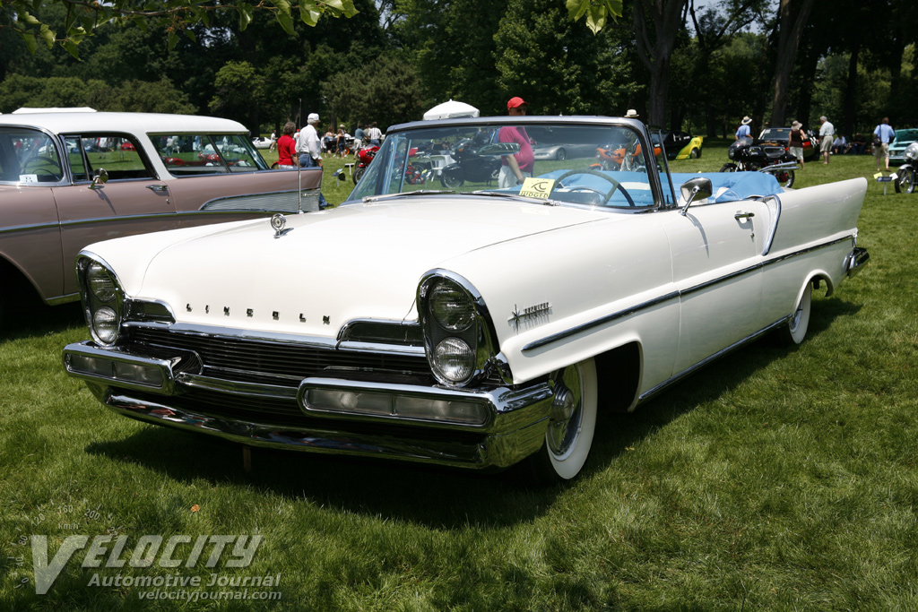 1957 lincoln premiere convertible information. Black Bedroom Furniture Sets. Home Design Ideas