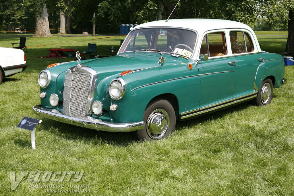 1959 mercedes benz 220s sedan information for Mercedes benz 220s for sale