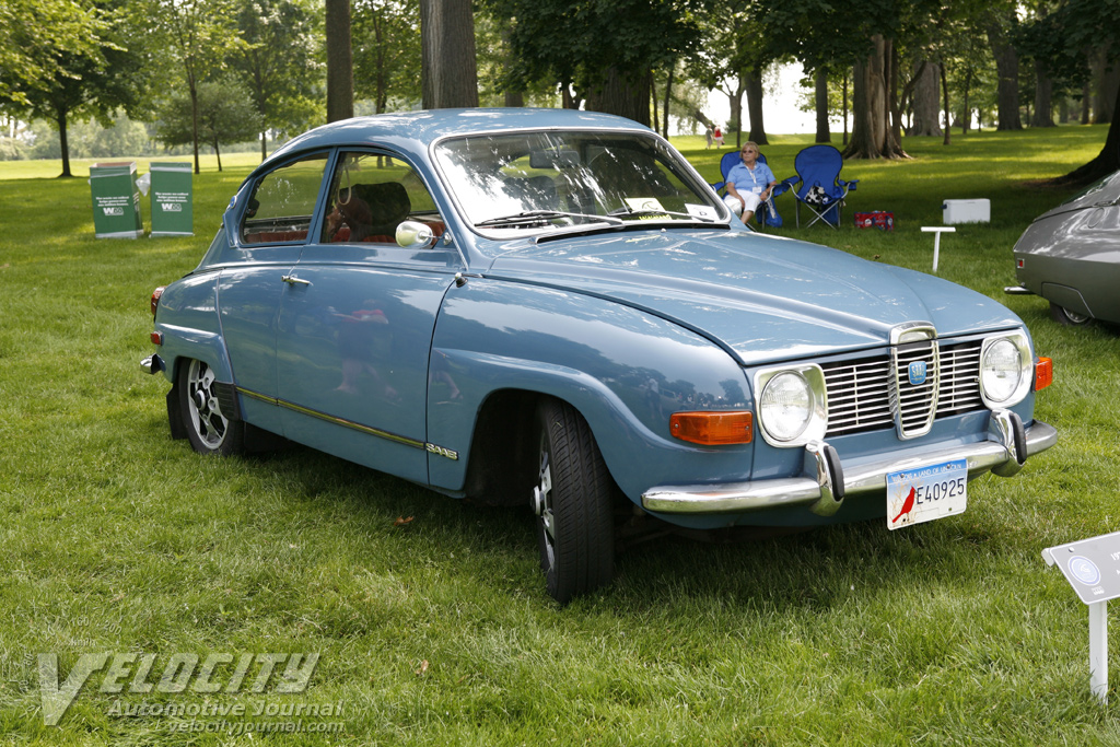 1971 Saab Coupe Information