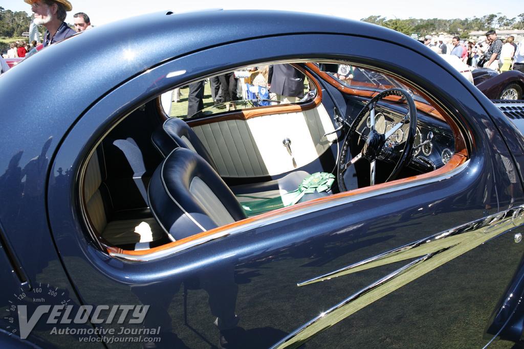 1938 Talbot-Lago T150C Figoni et Falaschi Coupe Interior