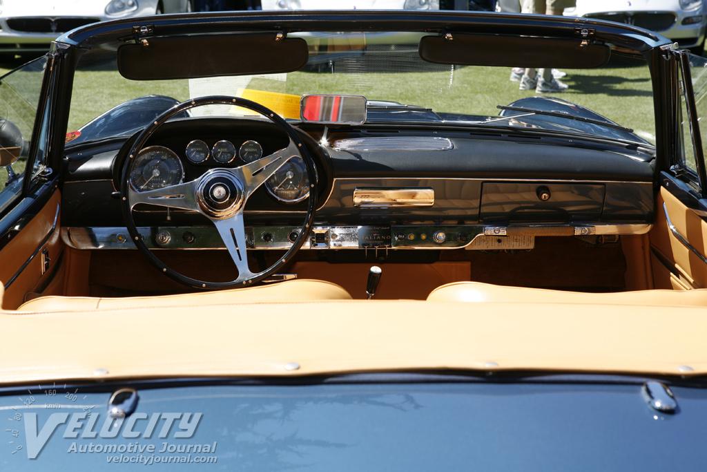 1961 Maserati 3500GT Spider Interior