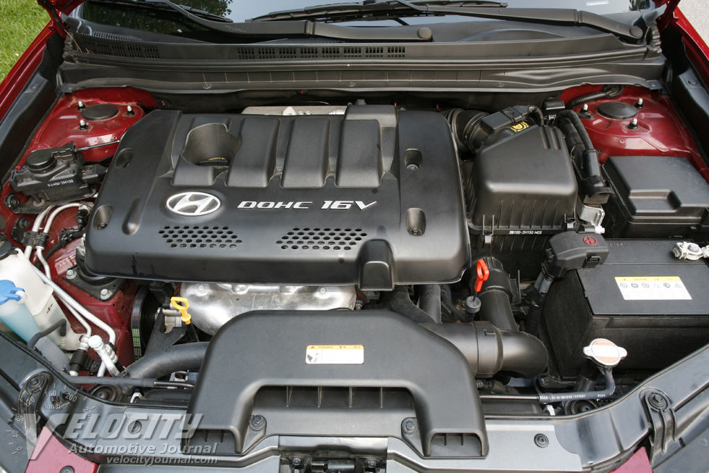 2007 Hyundai Elantra Engine