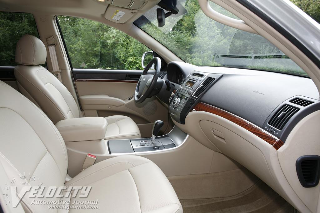 2007 Hyundai Veracruz Interior