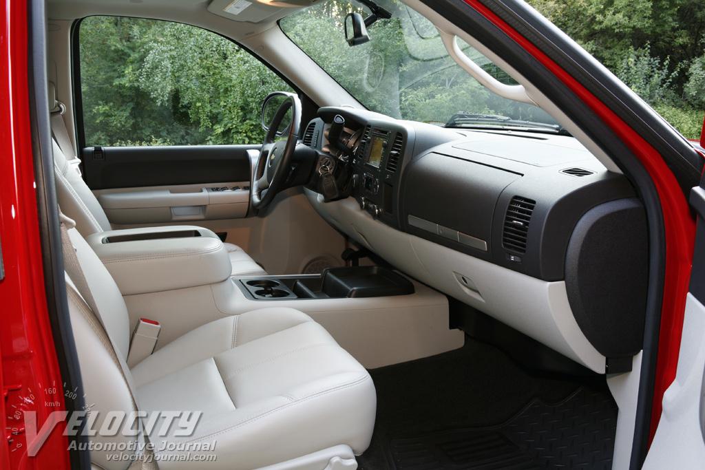 2007 Chevrolet Silverado Crew Cab Interior