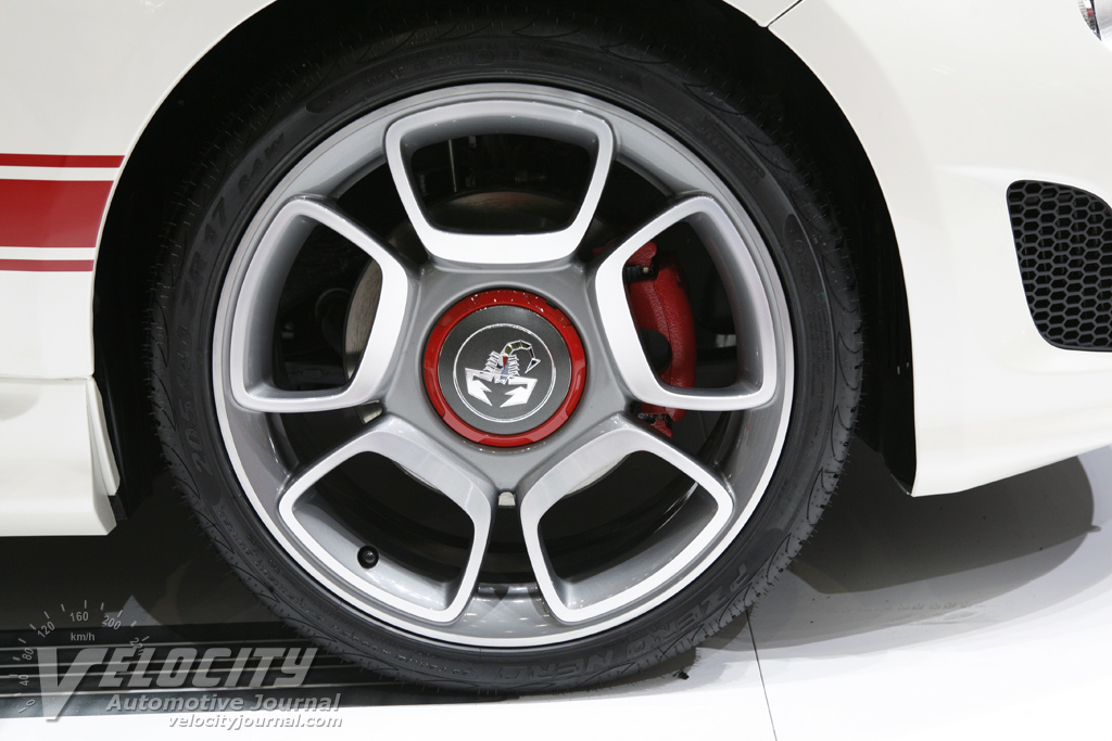 2008 Abarth 500 Wheel