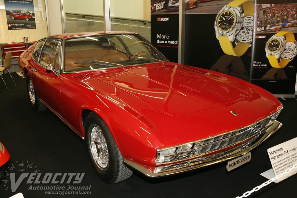 1967 Monteverdi 375S Prototype