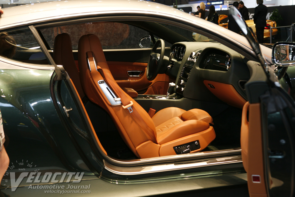 2008 Zagato Bentley GTZ Interior