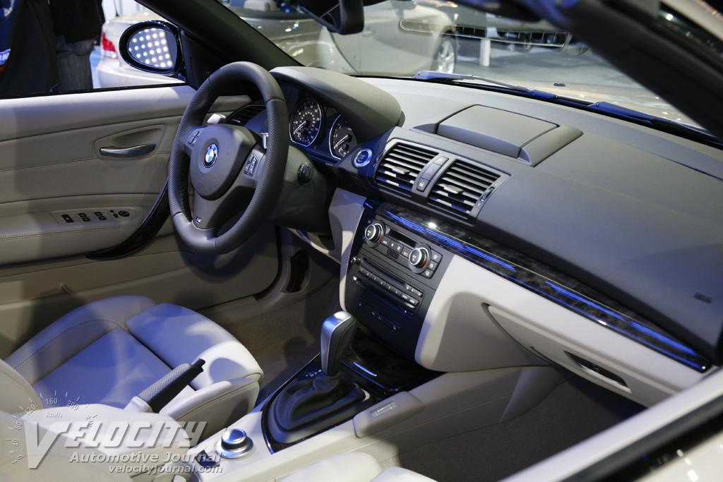2008 BMW 1-Series 135i Convertible Interior