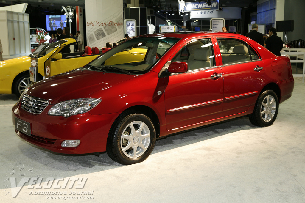 2008 BYD Auto F3