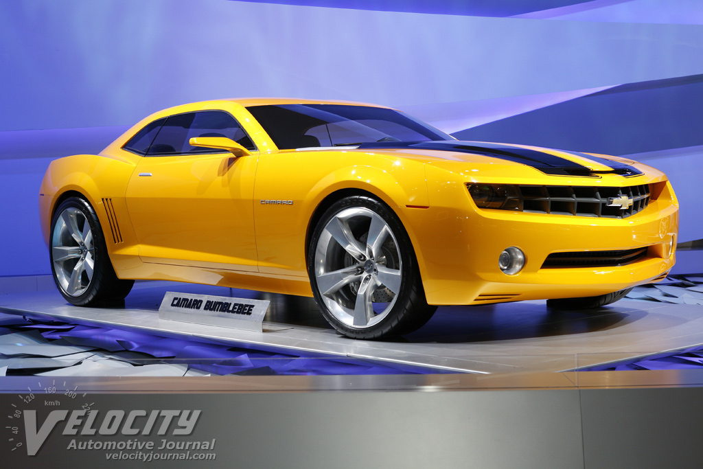 2007 Chevrolet Camaro Bumblebee Movie Car