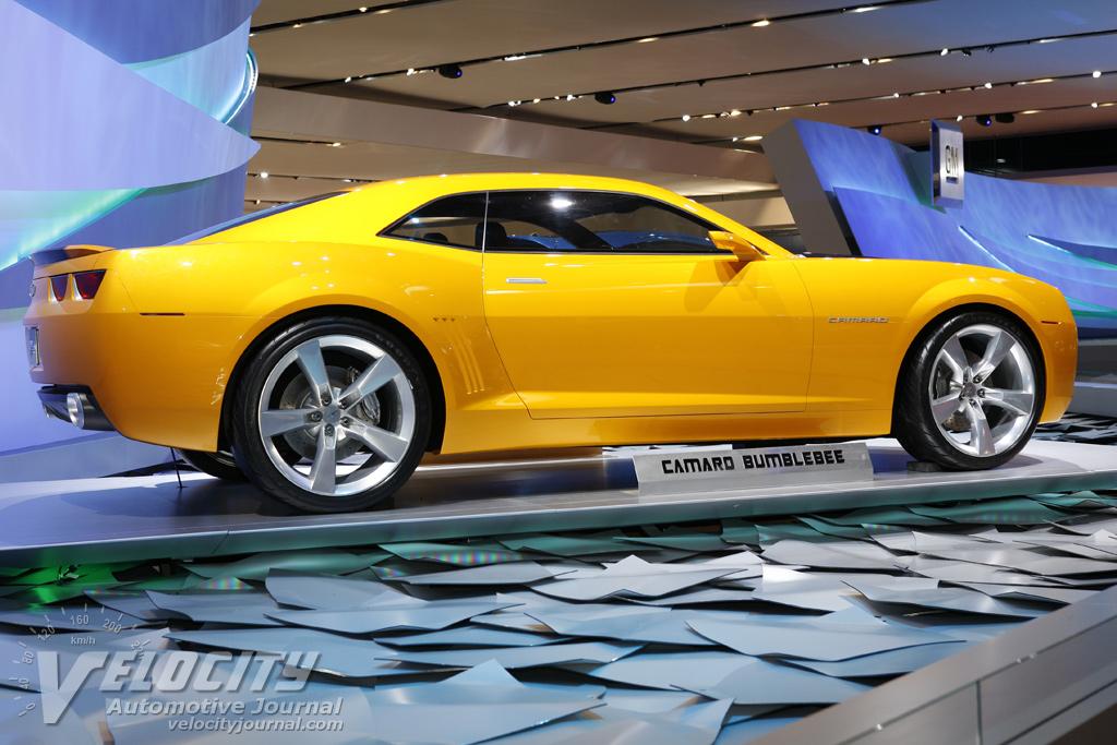 2007 Chevrolet Camaro Bumblebee Movie Car