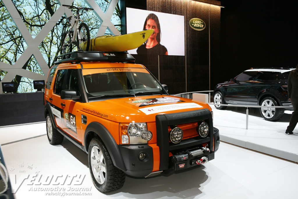 2008 Land Rover G4 Challenge Discovery