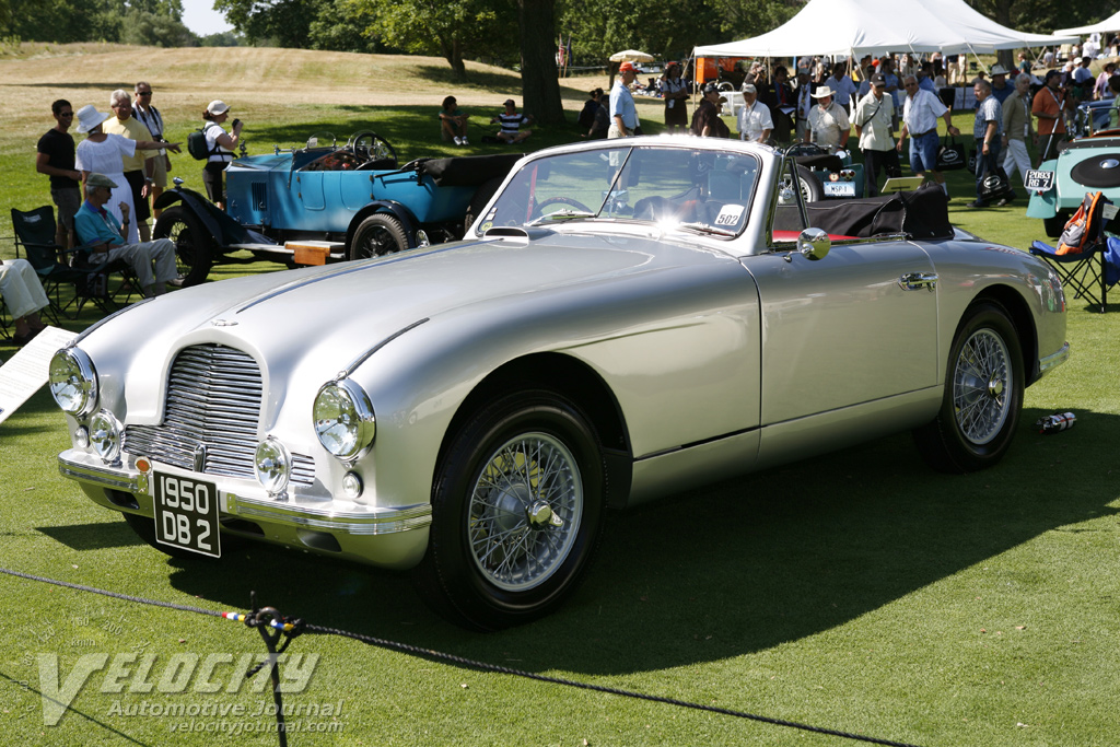 1950 Aston Martin DB2 Drophead information