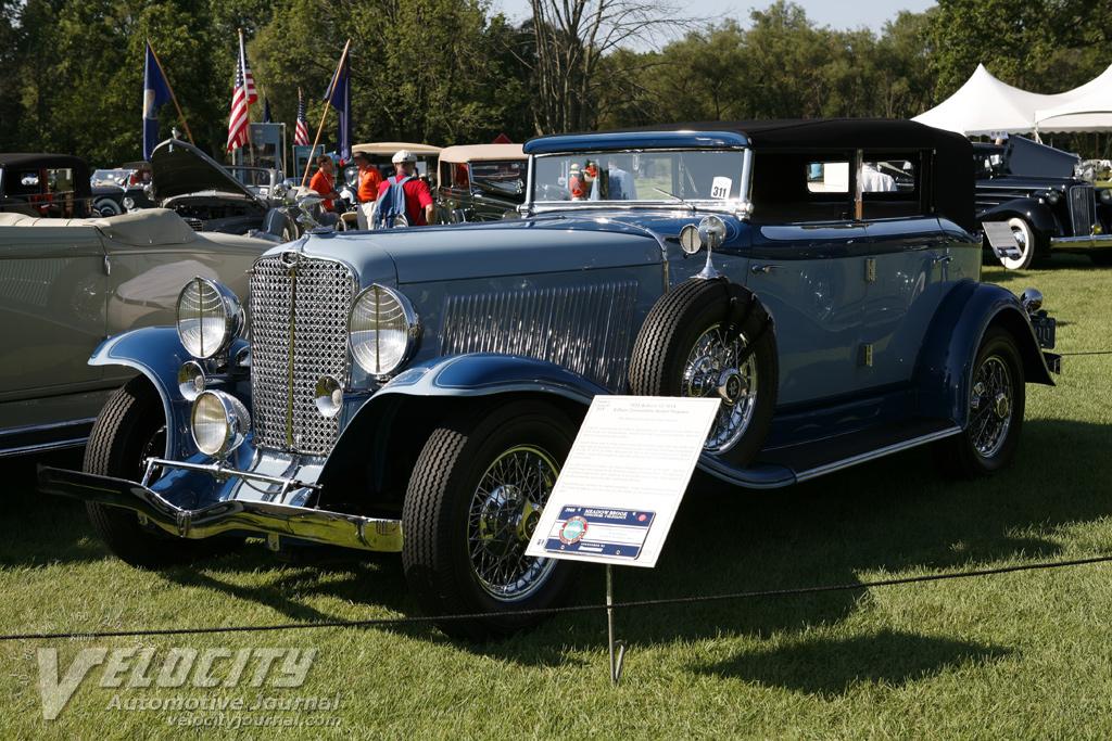 1933 Auburn 12-161A 4-door Convertible Sedan Phaeton