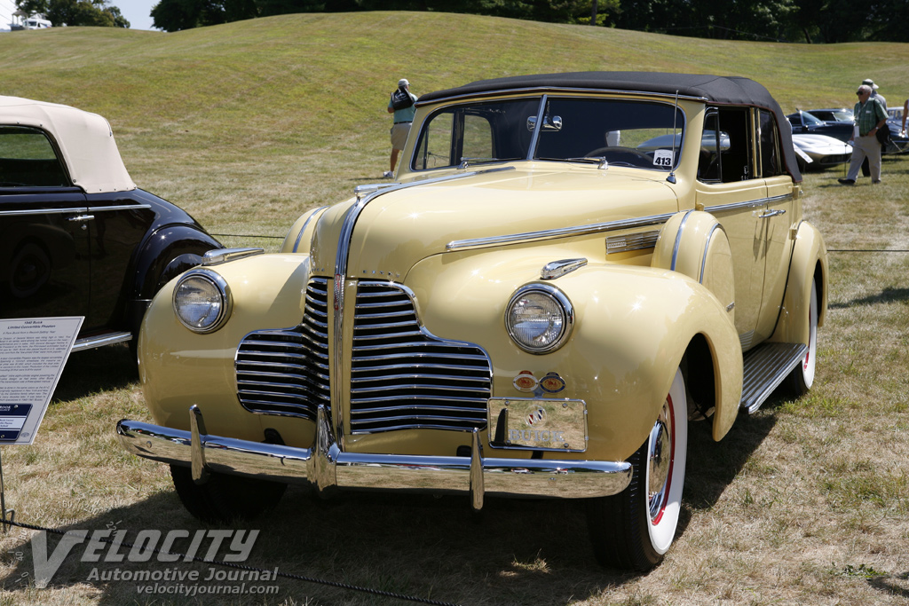 1940 Buick Limited Convertible Phaeton