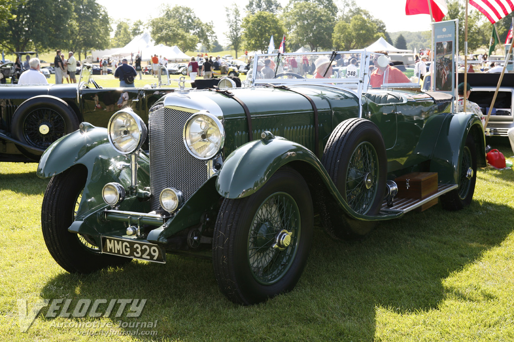 1931 Bentley 8-litre Gurney Nutting body