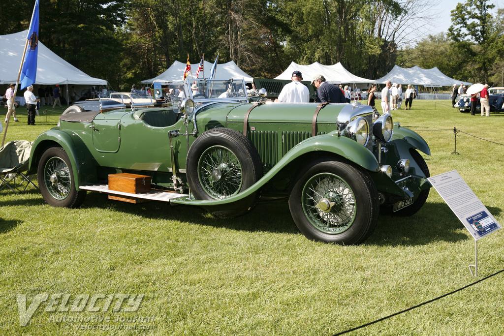 1931 Bentley 8-litre Gurney Nutting body