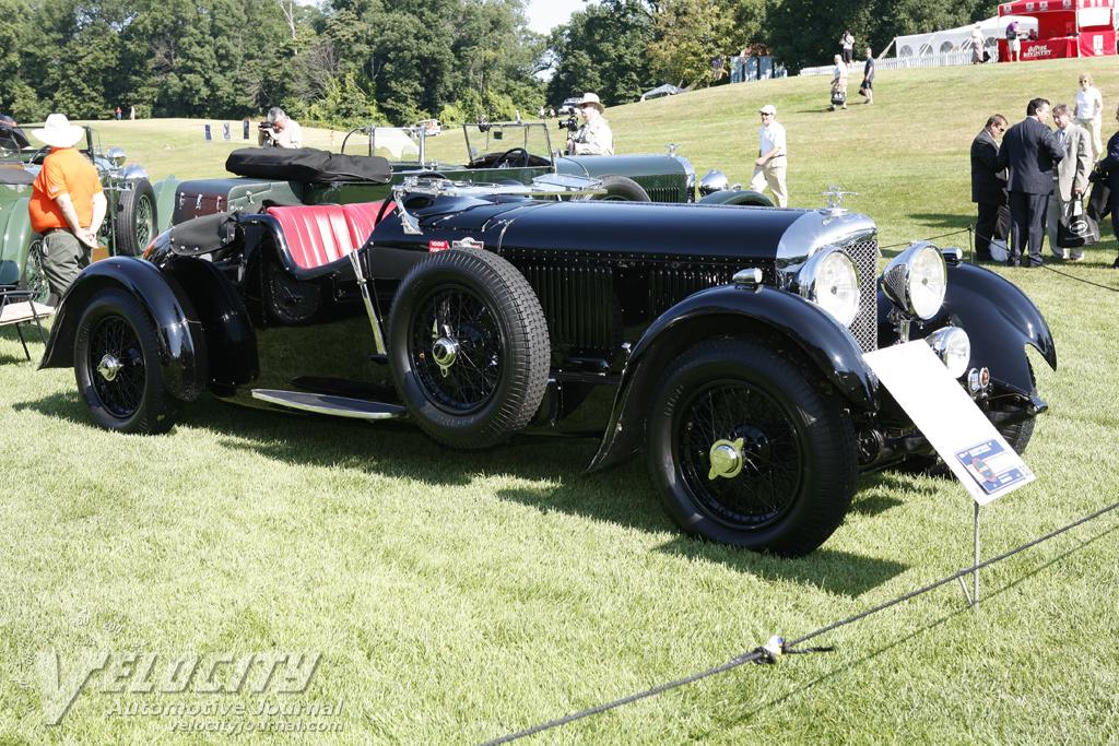 1931 Bentley 8-litre Tourer by Cossica