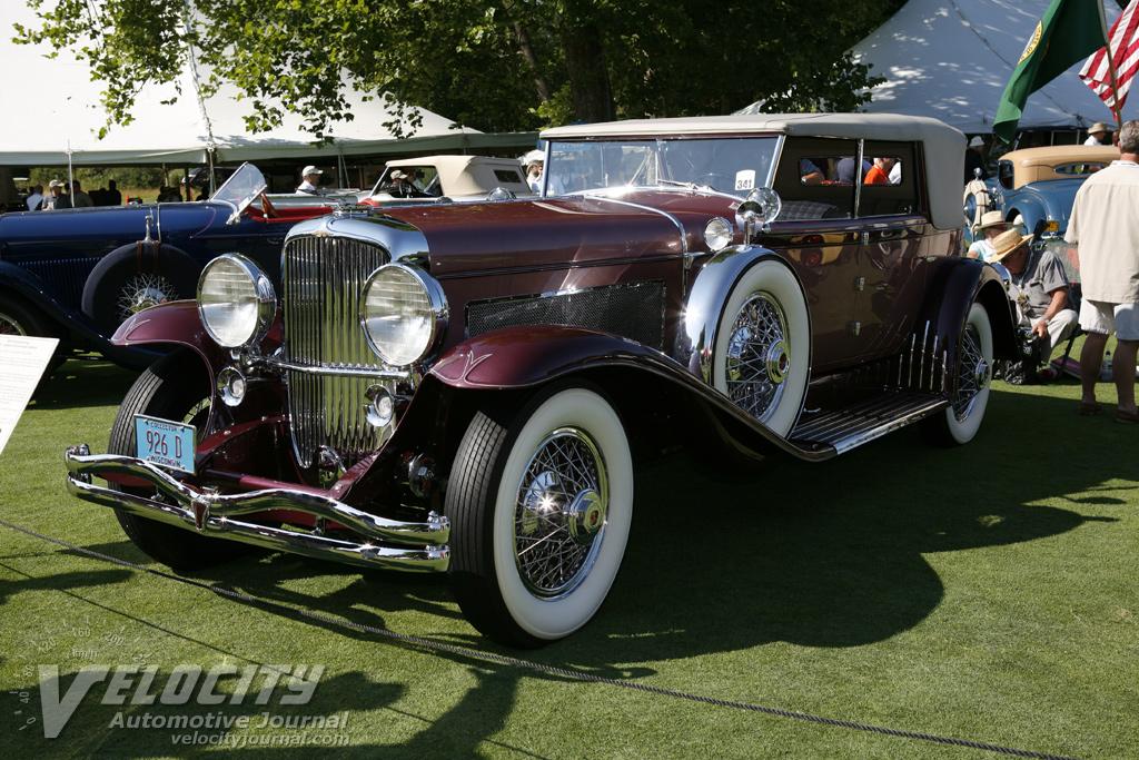 1931 Duesenberg Murphy Convertible Sedan