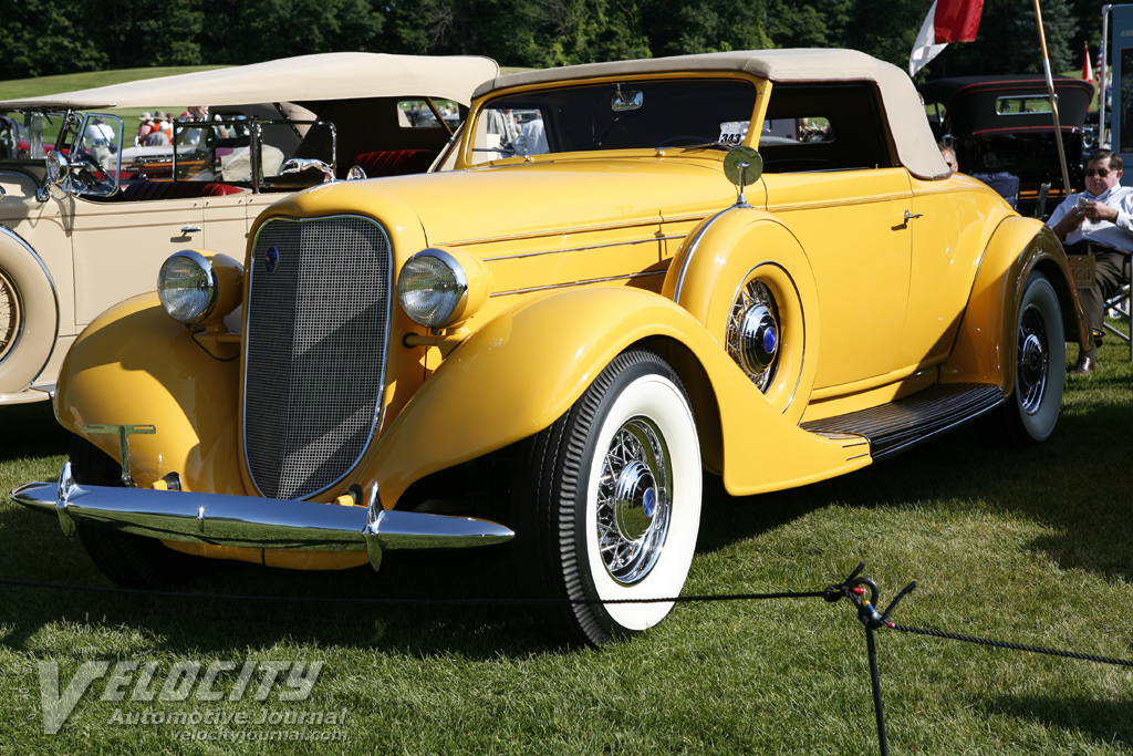 1935 Lincoln Model K Convertible Coupe by LeBaron