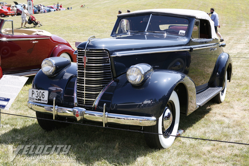 1938 Oldsmobile L-38 Convertible Coupe