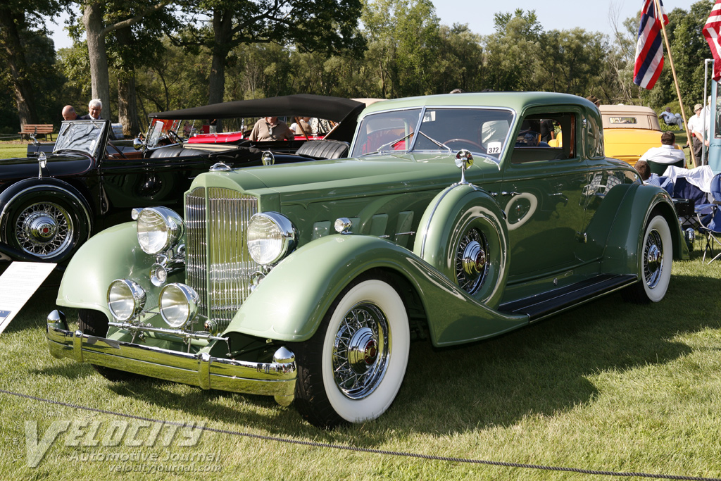 1934 Packard 1108 Twelve Dietrich Coupe
