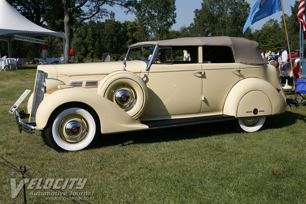 1937 Packard 120-C Sedan Convertible by Dietrich