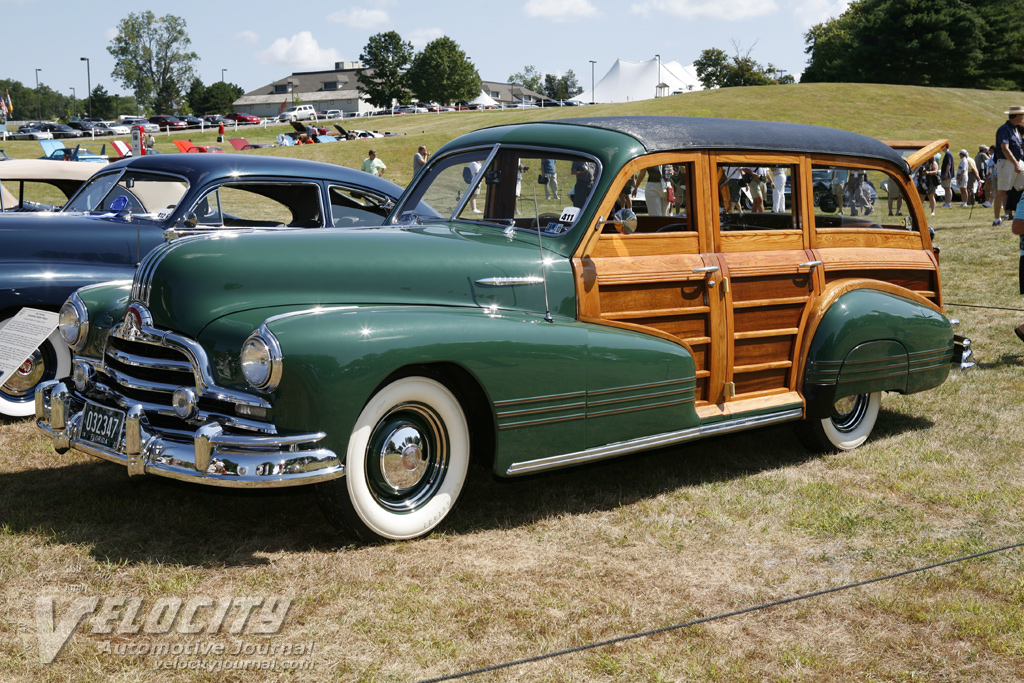 1947 Pontiac Streamliner Station Wagon