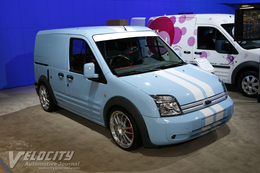 2008 Ford Transit Connect by H&R Special Springs