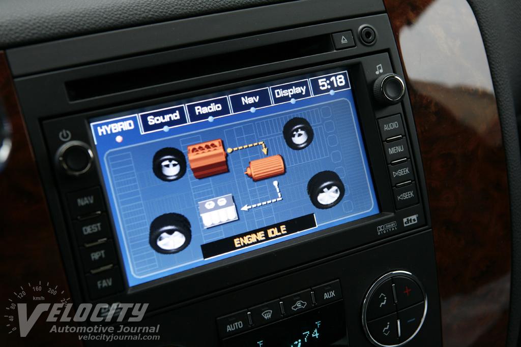 2008 Chevrolet Tahoe Instrumentation