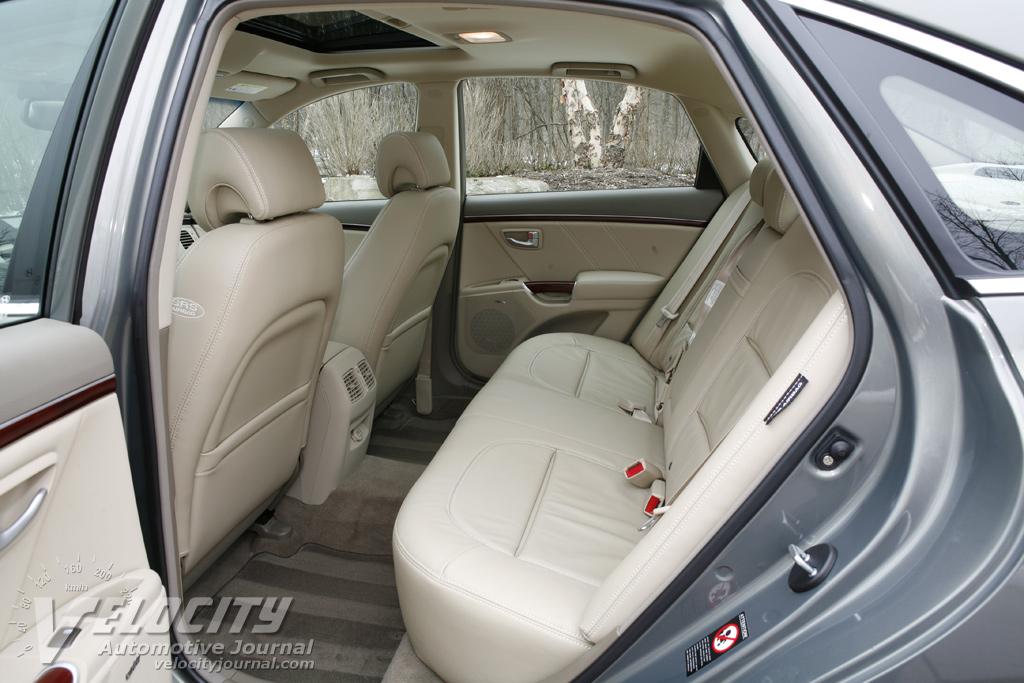 2008 Hyundai Azera Interior