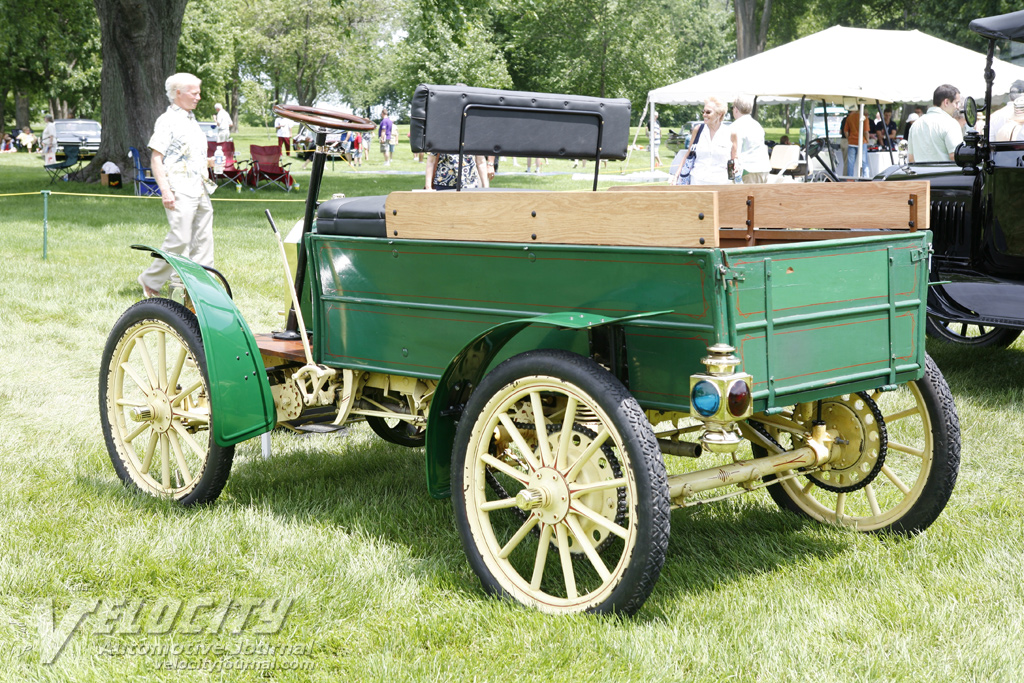 1908 Brush Delivery Truck