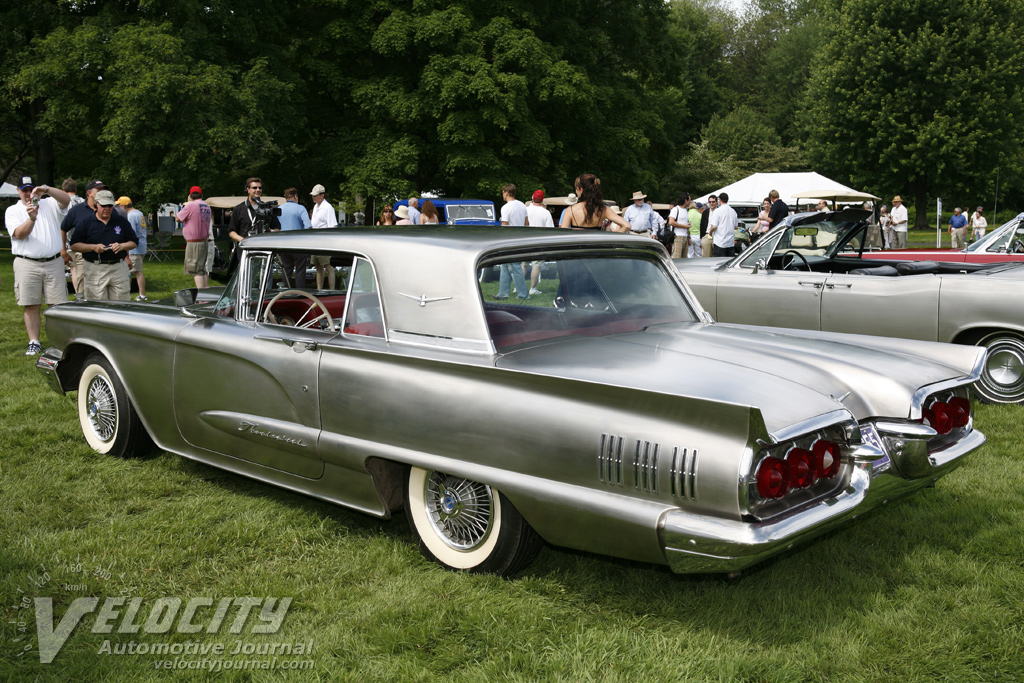 1960 ford thunderbird stainless steel show car