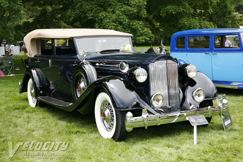 1935 Packard 12 Convertible Sedan Limosine