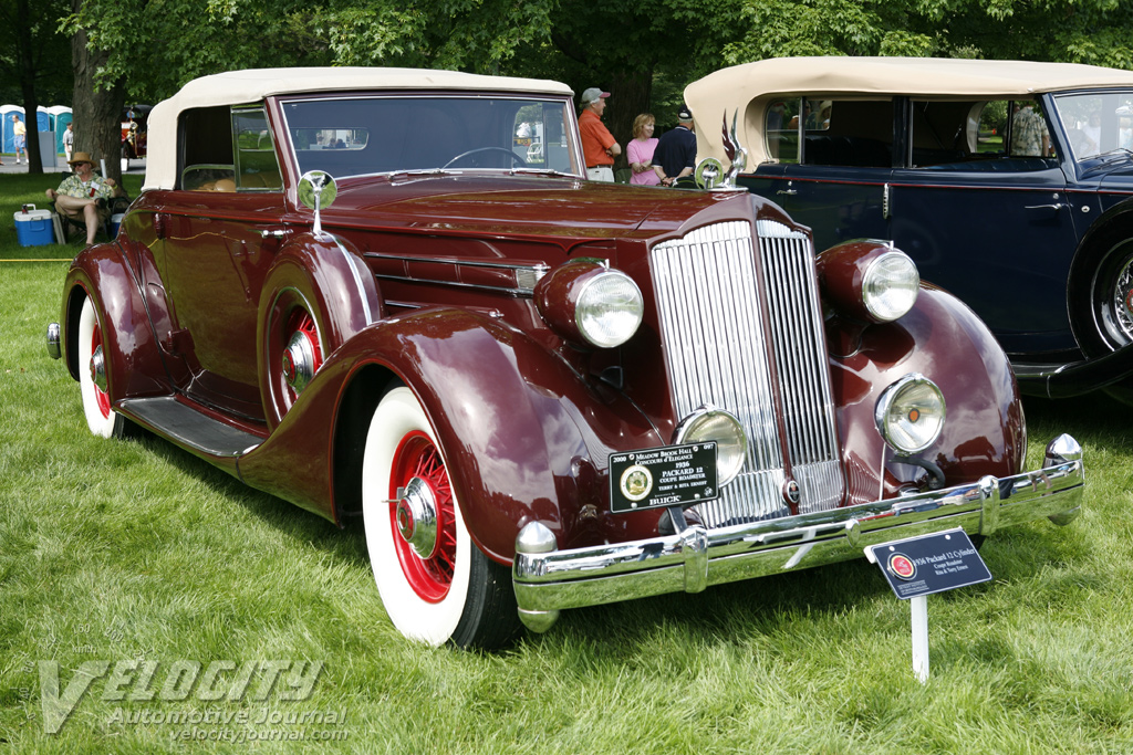 1936 Packard 12 Coupe Roadster