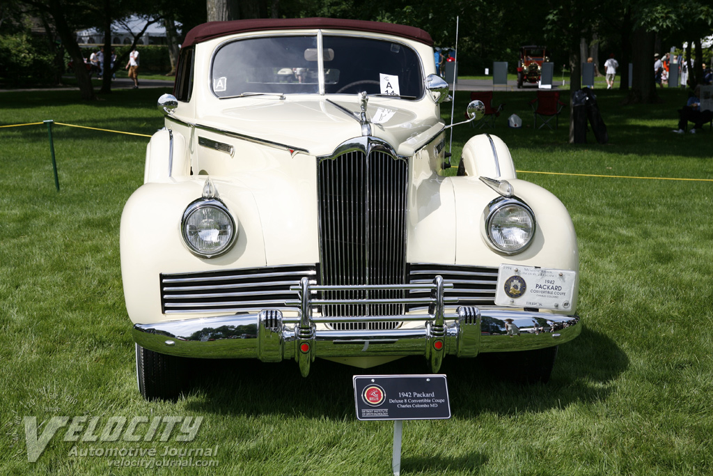 1942 Packard Convertible Coupe