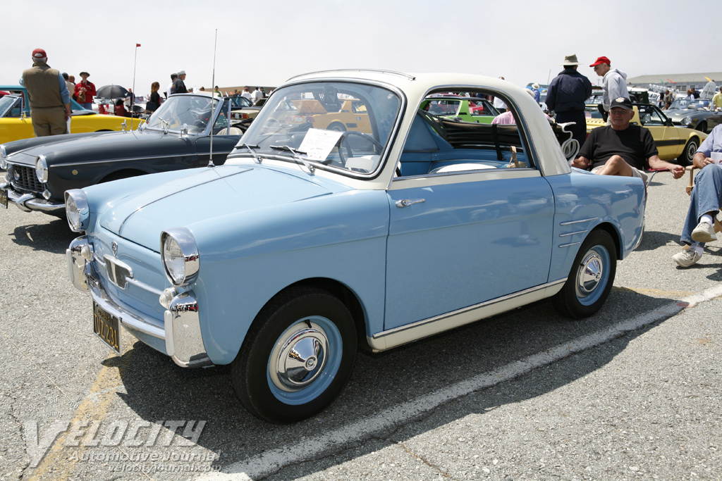1959 Fiat 500 Bianchina information
