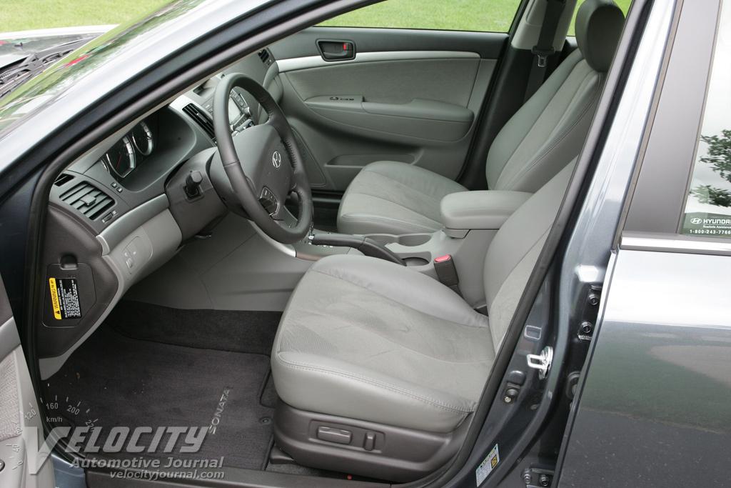 2009 Hyundai Sonata SE Interior