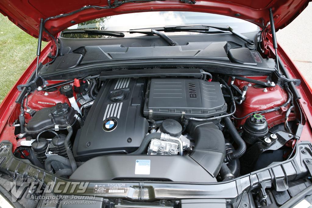 2008 BMW 1-Series 135i Coupe Engine