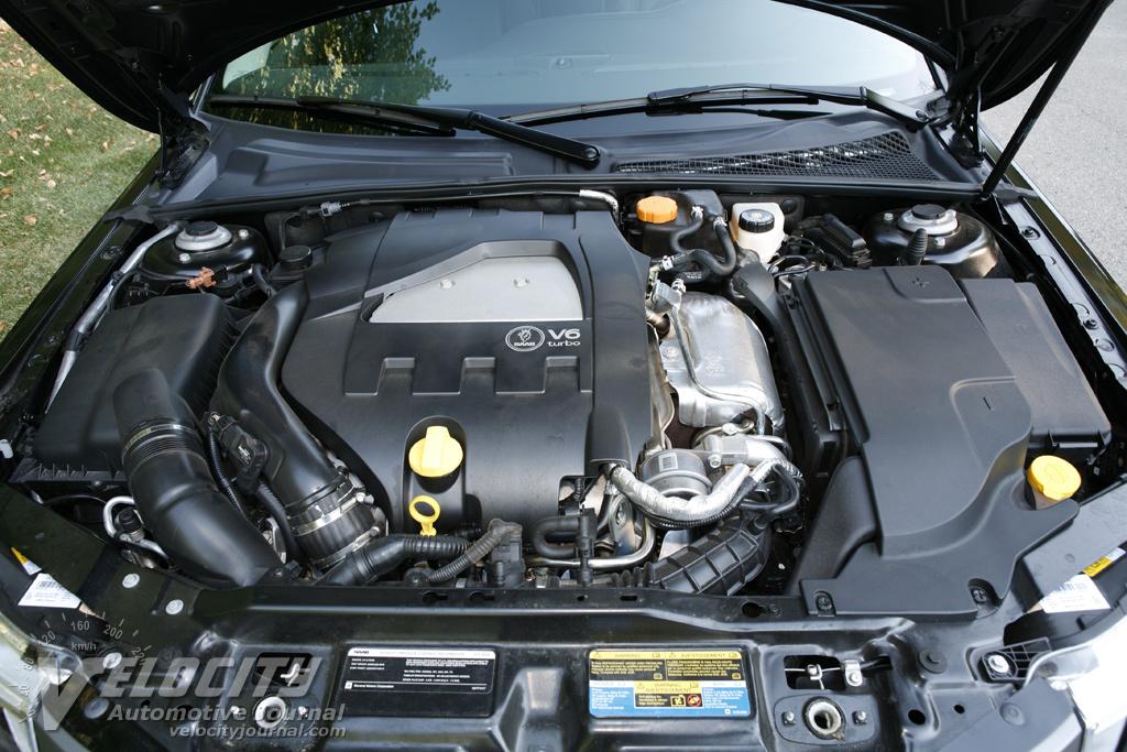2008 Saab 9 3 Turbo X Sedan Engine