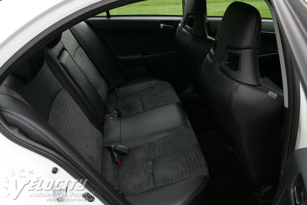 2008 Mitsubishi Lancer Evolution Interior