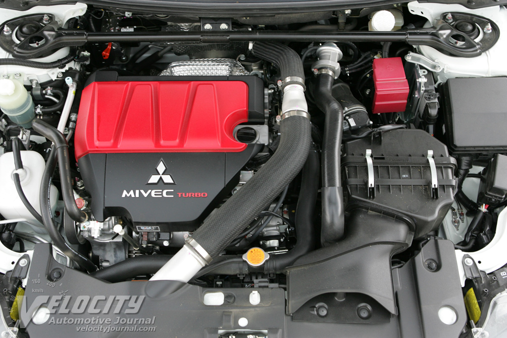 2008 Mitsubishi Lancer Evolution Engine